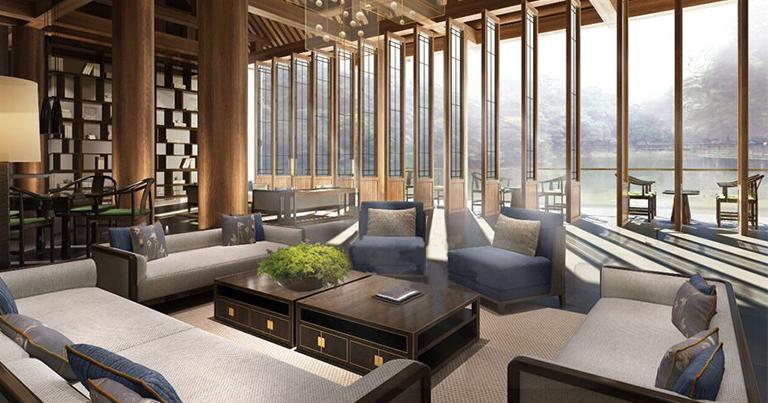 酒店设计装修-东嘉珍瑞