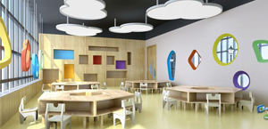 早教中心设计装修-东嘉珍瑞