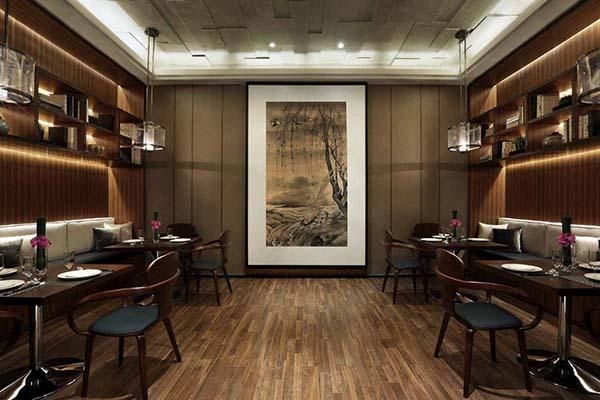 中式私房菜馆餐厅装修Oriental Restaurant