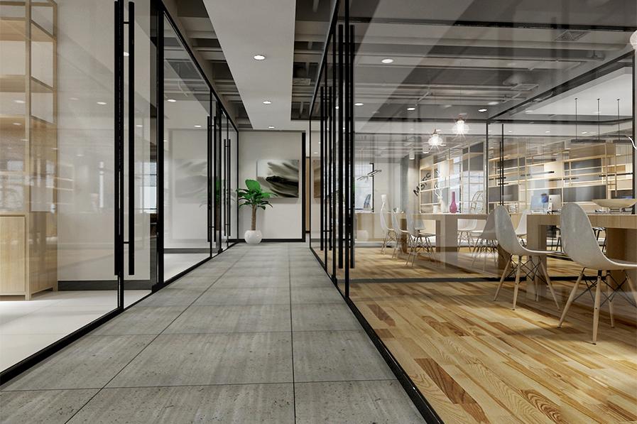现代工业风办公室设计