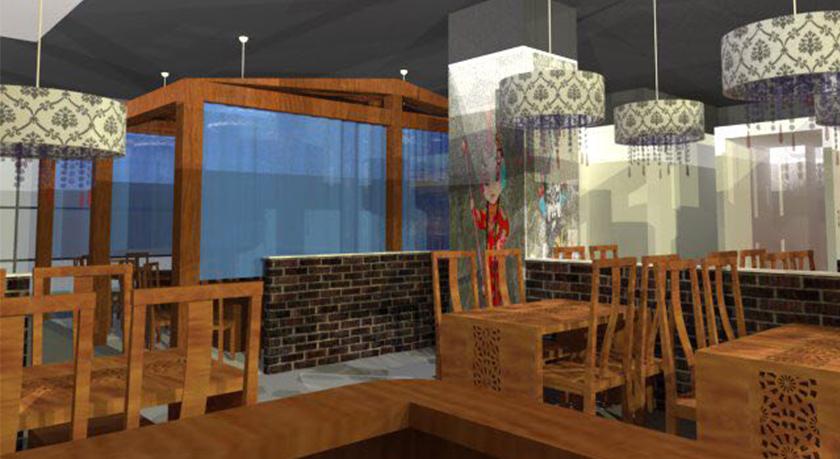 老北京火锅店设计