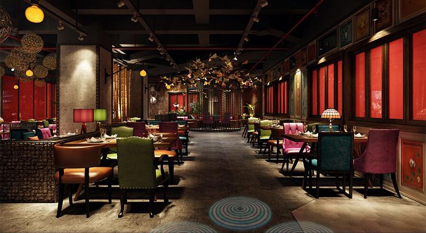 工业风音乐餐厅设计