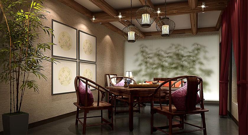 古典风格会所餐饮店设计
