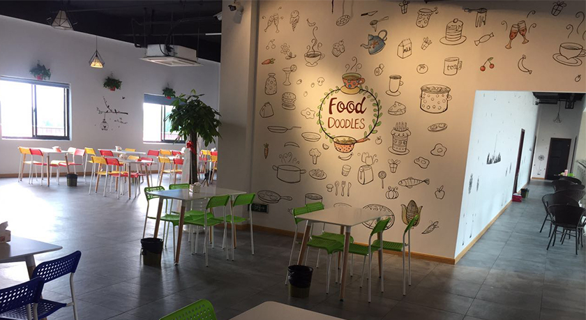 中式快餐餐饮店设计