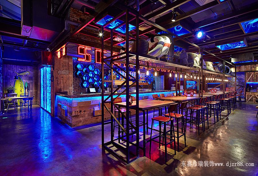 工业风主题餐厅设计