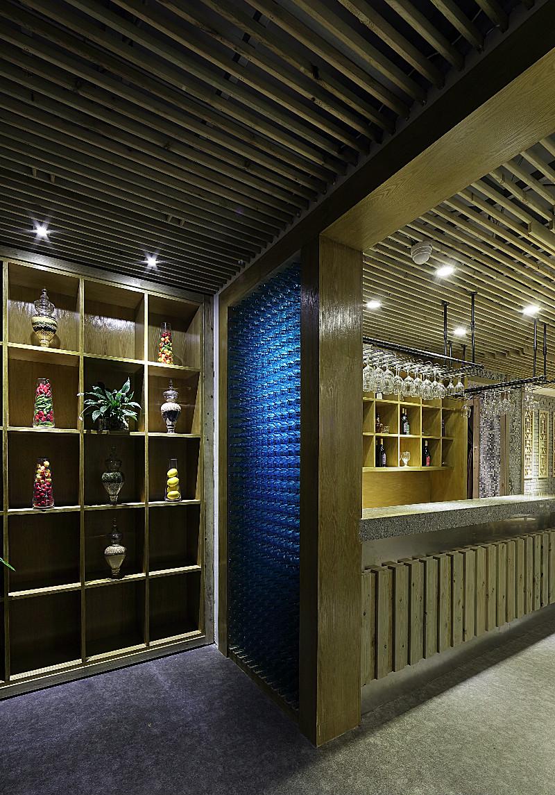 大喜膳:设计以简为主题的火锅店装修效果图