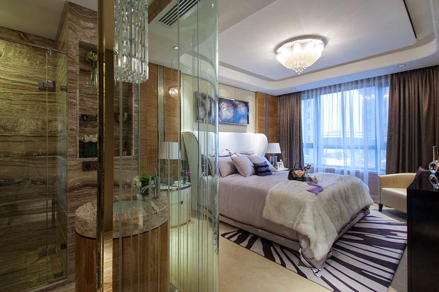 室内木纹石素雅设计