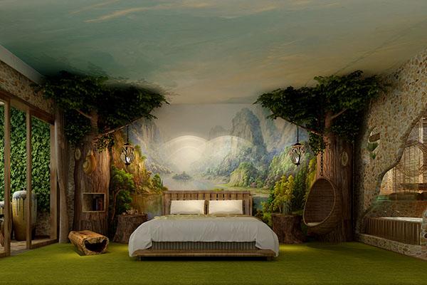 自然原生态主题酒店设计