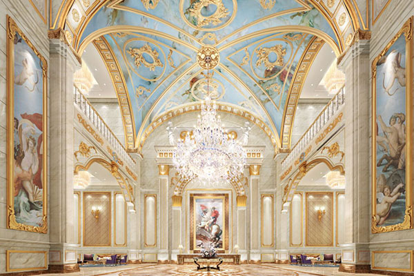 酒店设计的欧式风格