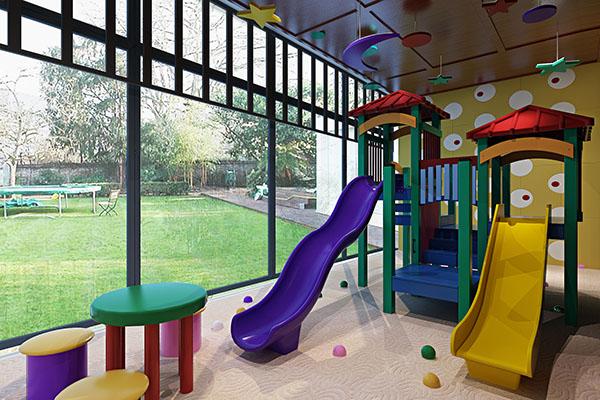鸿达幼儿园设计装修