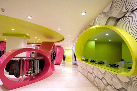Bosco Pi时装店设计