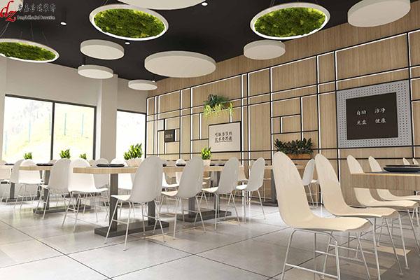 无锡市东港中捷食堂设计项目
